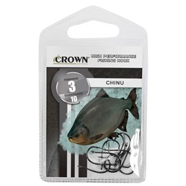 Anzol Chinu Black - CROWN