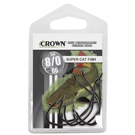 Anzol Super Catfish Black - CROWN